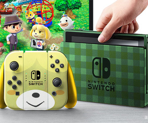 animal crossing, nintendo, and switch image