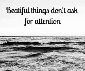 attention and beauty image
