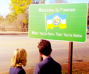 Amy Poehler, parks and recreation, and pawnee image