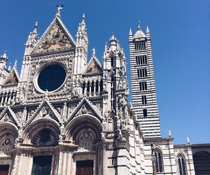 architecture, italy, and siena image