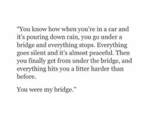 bridge, heartbreak, and poems image
