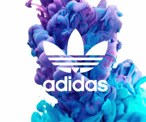 adidas, wallpaper, and blue image