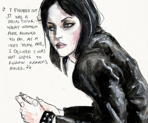 joan jett, art, and women image