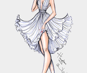 dress, hayden williams, and Marilyn Monroe image