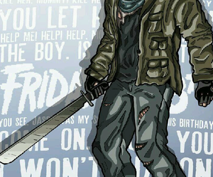 friday the 13th, jason voorhees, and horror movie image