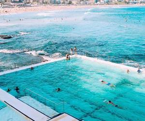 pool, water, and bondi beach image