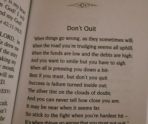 book, quit, and don't image
