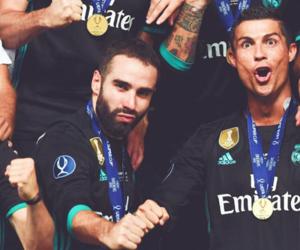 boys, cristiano ronaldo, and football image