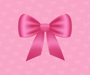 pink bow image