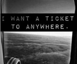 fly, quotes, and ticket image