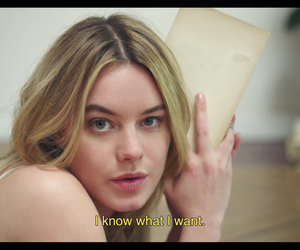 french, vogue, and camille rowe image