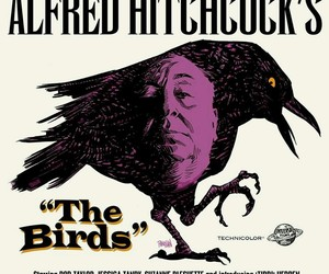 horror movie, Hitchcock, and Tippi Hedren image