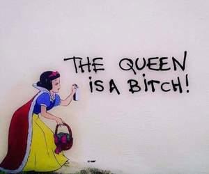 anarchy, bitch, and grafitti image
