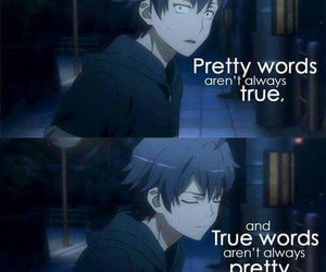 anime, quotes, and true image