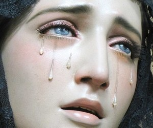 pink, tears, and cry image