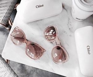fashion, sunglasses, and chloe image