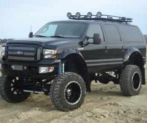 bumper, front bumper, and ford excursion image
