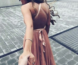 couple, Dream, and dress image