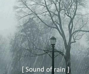rain, sound, and grunge image