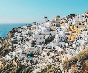 city, Greece, and summer image