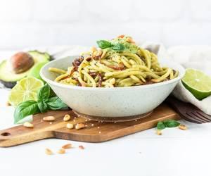 avocado, Caramelized, and cream image