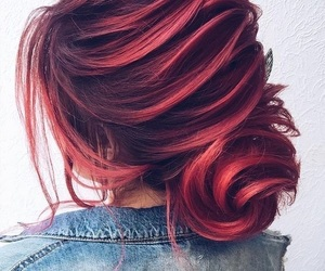 hair, lovely, and hair color image