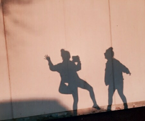 friends, shadow, and tumblr image