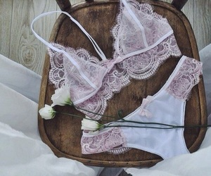 lingerie, pink, and braa image