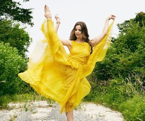 yellow, dance, and dancer image