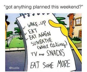 bustle, food, and weekend image