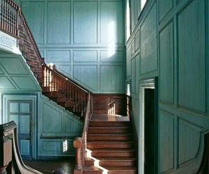 room, stairs, and sunlight image