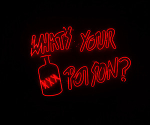 neon, pink, and poison image