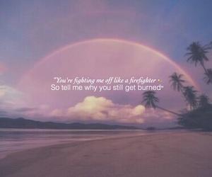 Lyrics, paradise, and hurts so good image