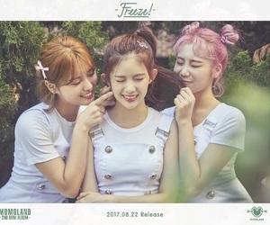kpop, jooe, and momoland image