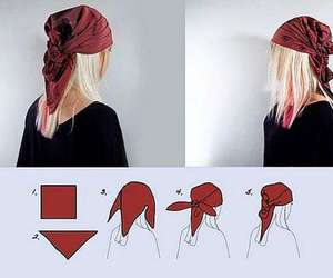 head scarf and how to wear head scarf image