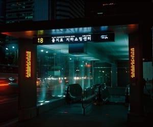 dark, japan, and neon image