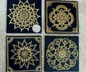 mandala and painting image