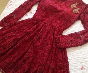 dress, elegante, and vestido image
