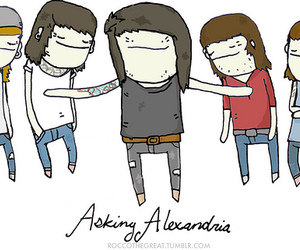 asking alexandria and aa image