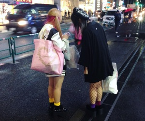 fashion, tokio, and japan image