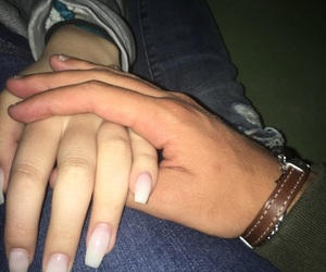 date, nails, and night image