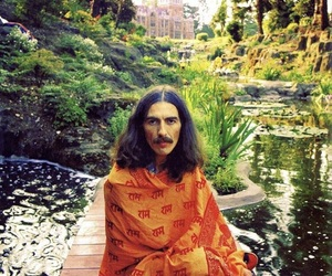 george harrison, beautiful, and the beatles image