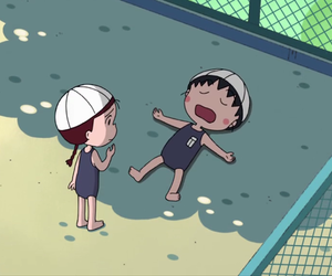 anime, beach, and kawaii image