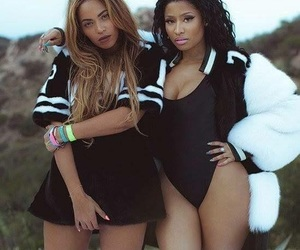 beyoncé, nicki minaj, and queens image