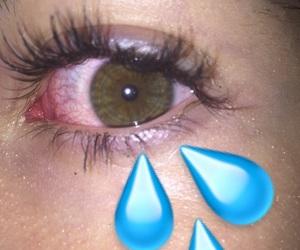 eye, eyelashes, and eyes image