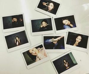 kpop, polaroids, and idot image