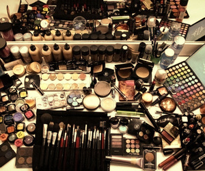 girls, make up, and cute image