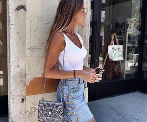 blogger, denim, and summer image