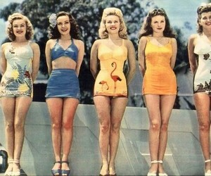 vintage, retro, and summer image
