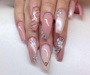 nail polish, nails, and nails art image